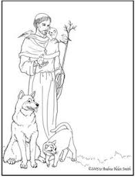 saints blesseds clergy free coloring pages teaching
