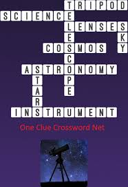 telescope one clue crossword