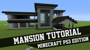 mansion tutorial minecraft 1 xbox 360 xbox one ps3 ps4 pe pc