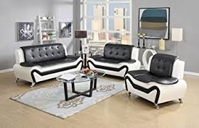 Modern Sofa And Loveseat Us Pride Furniture 3 Modern Bonded Leather Sofa