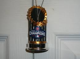 world series trophy baseball mlb ebay