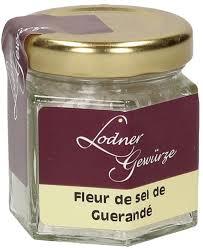 sel de cuisine gewürze lodner fleur de sel de guerandé salt 30 g piccantino