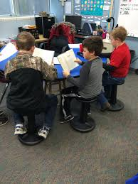 fab and fun in 4th project funded wobble chairs