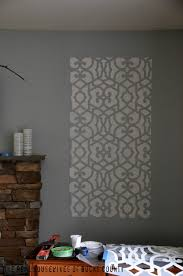 stenciled wall panels royal design studio east coast creative blog