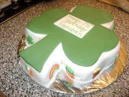 caroline jane cakes st patricks irish theme birthday cake