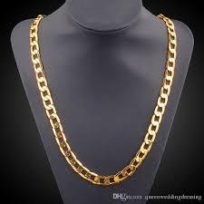 vintage necklace chains images Men gold chains 2018 vintage long gold chain for men chain jpg