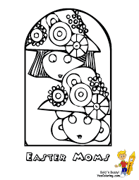 festive easter coloring easter activities free kids easter