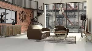 chambre ado industriel élégant chambre style industriel deco