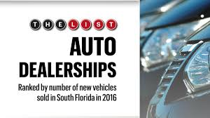 headquater toyota the list auto dealerships south florida business journal
