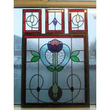stained glass door windows double glazing of stained glass panels