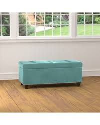 spooktacular fall savings on handy living tufted turquoise blue
