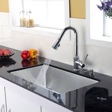 stainless steel kitchen sink combination kraususa com discontinued 30 inch undermount single bowl stainless steel kitchen sink with chrome kitchen faucet and