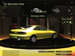 need for speed underground 2 acura integra type r beta nfscars