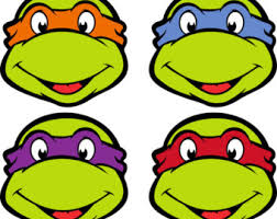 ninja turtles clipart printable pencil color ninja