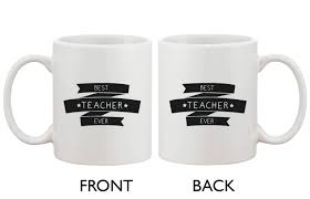 Best Coffee Cups Funny Ceramic Coffee Mug With Bold Statement Best Teacher Ever
