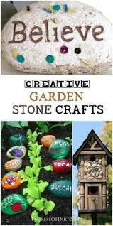 Garden Stone Craft - this fairy u0026 mushroom garden stone has wonderful detail inscribed