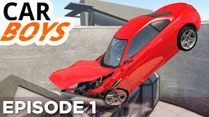 Seeking Car Episode Nick And Griffin Play Beamng Drive Car Boys Episode 1