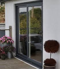 Upvc Patio Door Grey Upvc Sliding Patio Door 1700mm 1799mm Wide Ebay