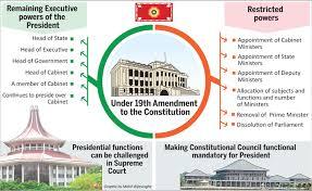 Number Of Cabinet Members Sundayobserver Lk Political Divesting Executive Powers