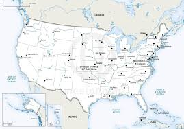 Image Of United States Map by Vector Map Of United States Of America One Stop Map