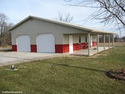 pole barn garage with lean pole barn options places to visit