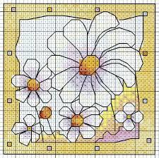 daisies u0027 from michael powell u0027s u0027mini cross stitch u0027 book paperback