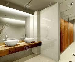 badezimmer 3d modernes design innenraum der stilvolles badezimmer 3d render
