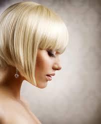 Moderne Bob Frisuren Kurz by Moderne Bob Frisur In Der Brillanten Haarfarbe Blond Für Das Jahr