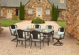 La Z Boy Dining Room Sets La Z Boy Outdoor Dllm 7pc Lucie 7 Piece Dining Set Limited