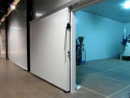 porte coulissante chambre froide porte de chambre froide négative porte frigorifique