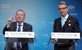 siege medef les patronats français et allemand appellent à mieux contrôler l