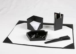 White Leather Desk Blotter Decor U0026 Accessories Exciting Leather Desk Blotter Pad Design For