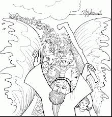 coloring pages baby good moses and red sea coloring page with baby moses coloring page