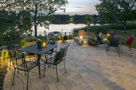 minnesota backyard paver patio and retaining walls southview design