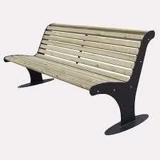 panchine legno panchina athena legno con schienale fly srl