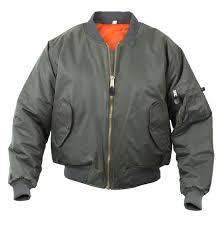 Wallace And Barnes Bomber Amazon Com Rothco Ma 1 Flight Jacket Clothing