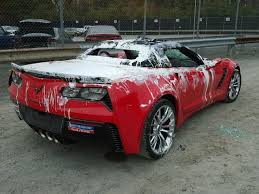 vandalism 2015 corvette z06 convertible gets a paint job