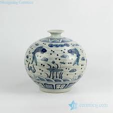 Blue And White Vases Antique Blue And White Vase Jingdezhen Shengjiang Ceramic Co Ltd