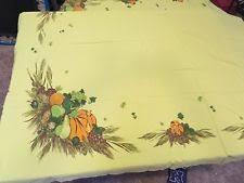 vintage thanksgiving tablecloth ebay