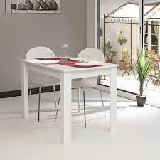 photo de cuisine blanche l gant table de cuisine blanche tables repas firenze blanc noir