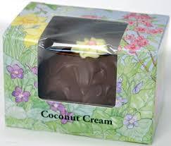 coconut easter eggs asher s easter eggs ashers milk chocolate coconut egg 8oz