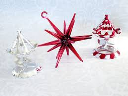 tree ornaments spinners vintage spinner