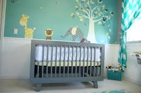 chambre bébé gris et turquoise chambre bebe grise chambre bebe jaune gris et vert emeraude lit bebe