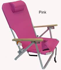 Back Pack Chair Imprinted 4 Position Aluminum Folding Backpack Chair By Jgr Copa