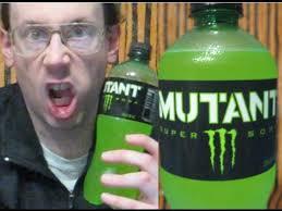 Soda Bottle Monsters Totally Green - monster mutant super soda review halloween countdown youtube