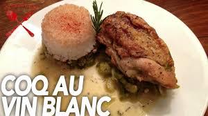 cuisine au vin blanc coq au vin blanc isobe food