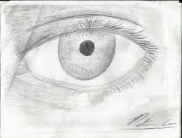 attempt on realism eye with teardrop by manga109005 on