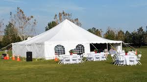 tent pole canopy 40x40 facade theme party