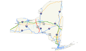 Map New York State Map Of New York State Highways New York Map