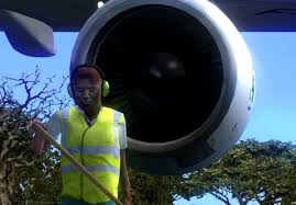 Turbine Engine Mechanic Guy Gets Into A Jet Engine Youtube